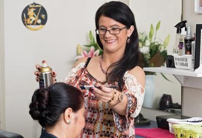 Hairdresser at Leisure Lea Gardens Marsfield
