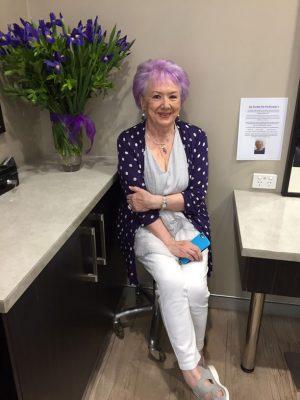 Helen H purple hair