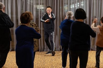 Master George H Lee's Tai Chi and Qigong classes are popular at Living Choice Fullarton.