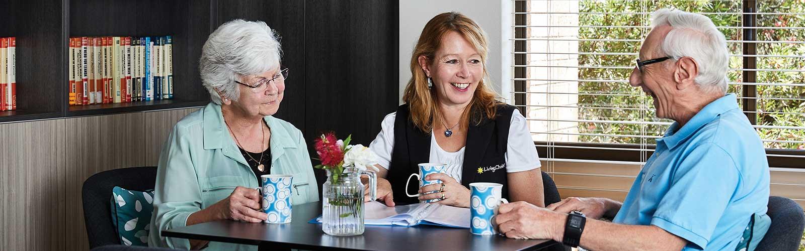 contact living choice retirement villages